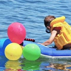 Wasserspaß und viel Freude