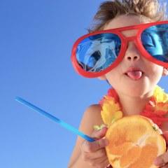 Strandparty für die Kleinen