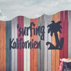surfing Kalifornien