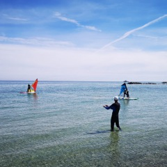 Windsurfen lernen